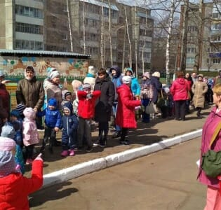 В МАДОУ детском саду «Надежда» прошла тренировочная эвакуация