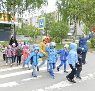 Участие воспитанников  МАДОУ детского сада «Надежда» в профилактическом мероприятии «Внимание, дети!»