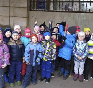 Воспитанники МАДОУ детского сада «Надежда» в детской библиотеке им. С.Я. Маршака