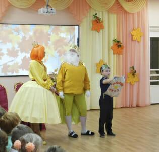 Осенние праздники в МАДОУ детском саду  «Надежда»