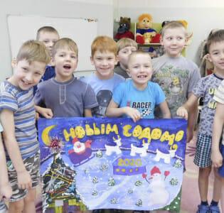 Воспитанники МАДОУ детского сада «Надежда»  поздравили ветеранов войны и труда