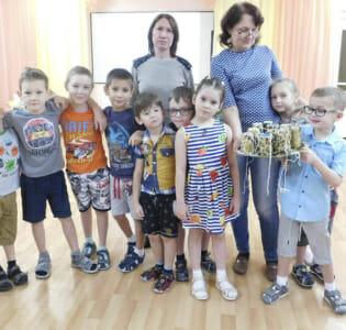 Акция «Спешите делать добро!»  в МАДОУ детском саду «Надежда»