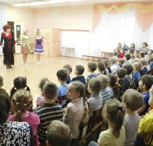 Артисты Вятской филармонии в МАДОУ детском саду «Надежда»