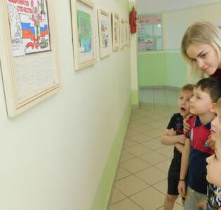 Выставка «Защитники нашей Родины» в МАДОУ детском саду «Надежда»