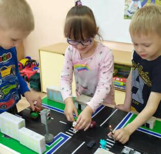 Акция «Внимание, дети!» В МАДОУ детском саду «Надежда»