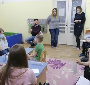 Деловая игра «Хочу учиться!» в МАДОУ детском саду «Надежда»