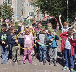 Неделя Олимпийских игр в детском саду Надежда